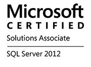 Microsoft Certified Solutions Associate SQL Server 2012
